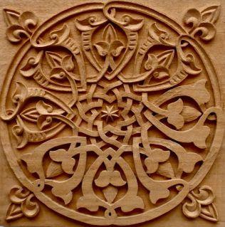 Wood engrave
