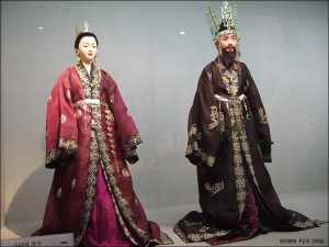 Busana King and Queen of Shilla (Korea)