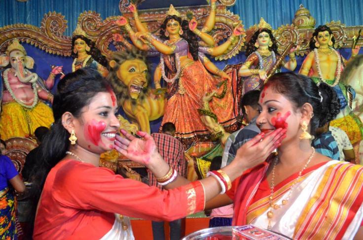 11-10-16 Nagaon- Durga Puja Sindur Khela (1).jpg